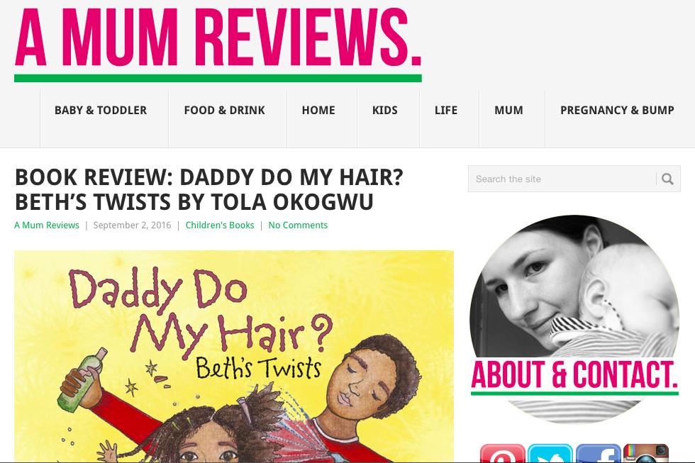 A Mum Reviews Beth's Twists