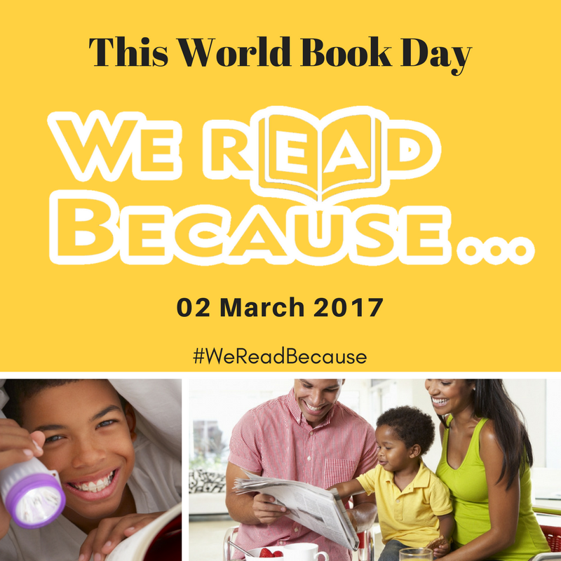 Our New Campaign | #WeReadBecause