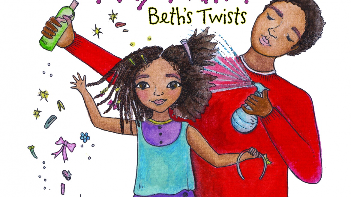 Teaser video for Daddy Do My Hair? Beth's Twist